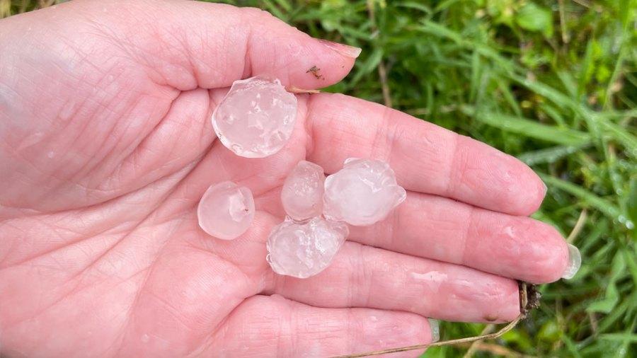 Liberty Township hail
