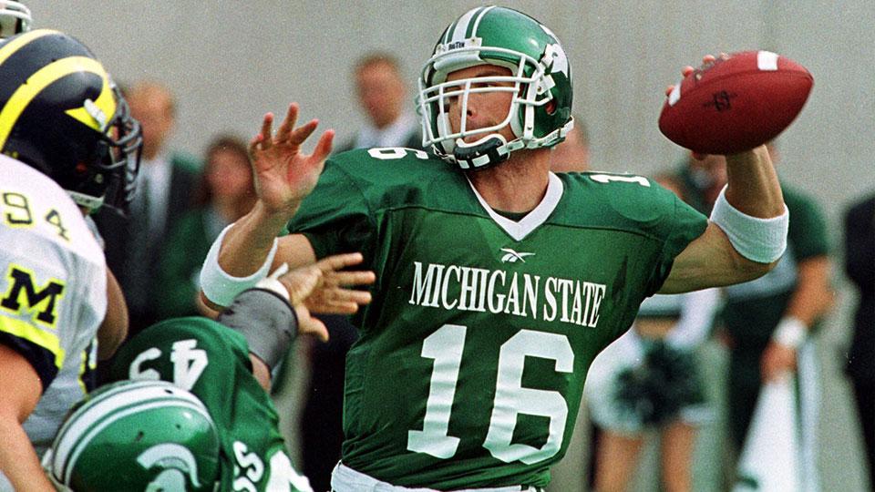Michigan State University Spartans, Quarterback Bill Burke