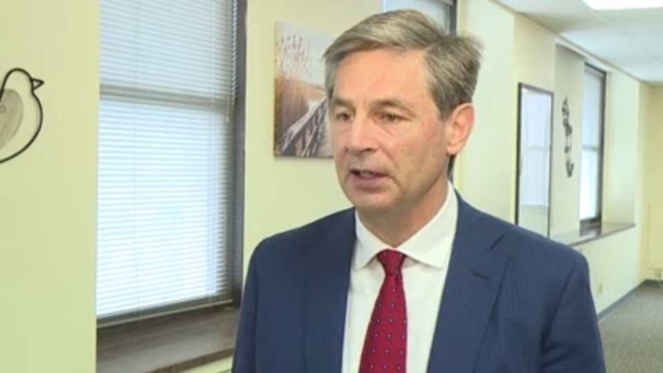Republican State Senator Matt Dolan visited Youngstown Wednesday as he eyes a possible run for the U.S. Senate.