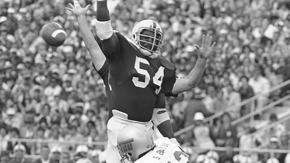 Penn State Nittany Lions Defensive Tackle, Bruce Clark