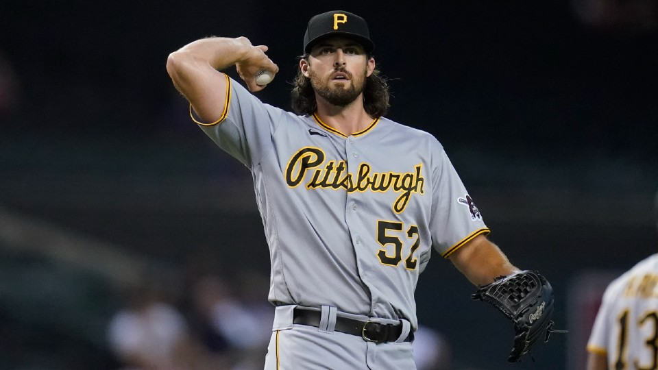Pittsburgh Pirates relief pitcher Clay Holmes