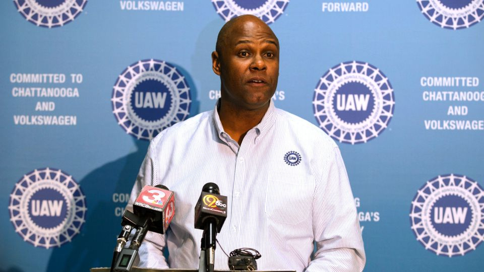Ray Curry is taking over leadership of the United Auto Workers perhaps the most critical juncture in the union's history.