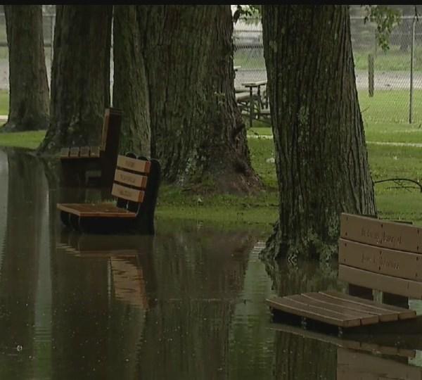 Roosevelt Park flooding in Campbell