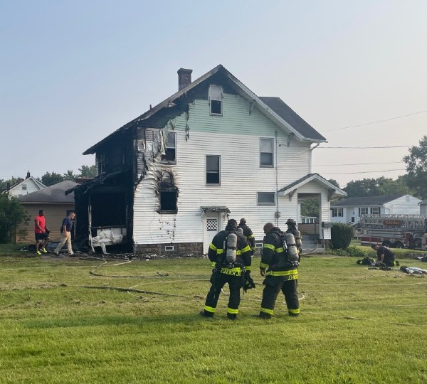 Scioto Drive house fire in Youngstown