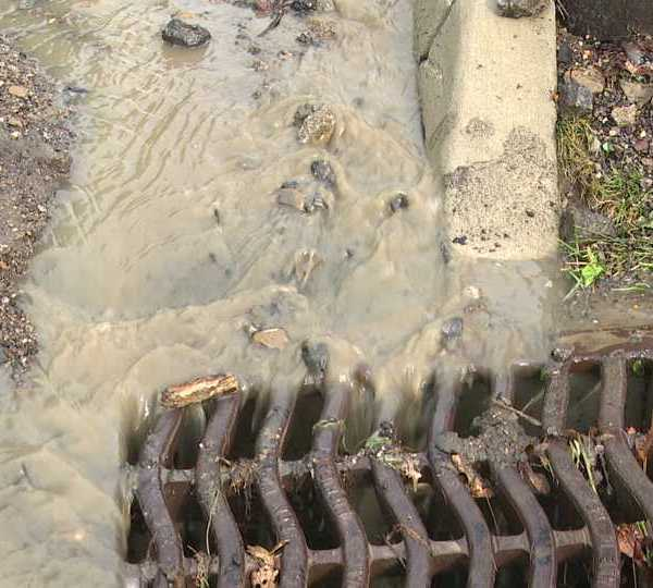 Heavy storms hit parts of the area Wednesday. Lowellville was one of them where one person had their house flooded.