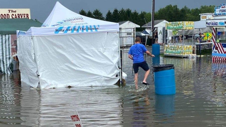 Trumbull County Fair Flood (2)