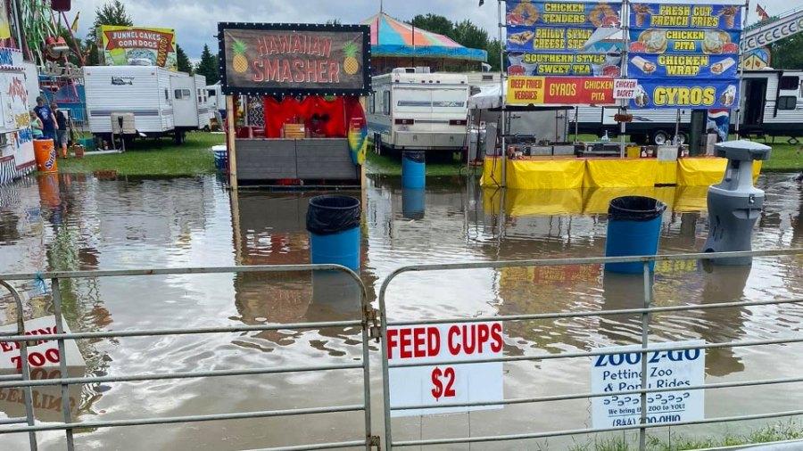 Trumbull County Fair Flood (3)