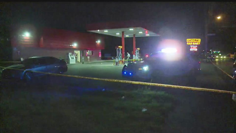 Police say the killing of a 17-year-old boy pumping gas Sunday was not a random act.