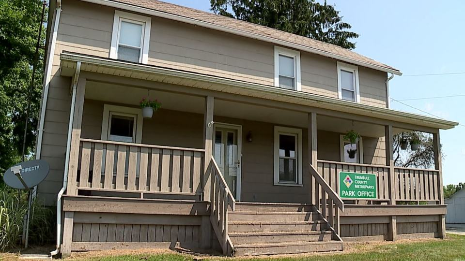 Trumbull County Metroparks held a grand opening Saturday for its new office.