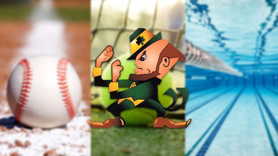 Ursuline Fighting Irish, baseball, tennis, swimming
