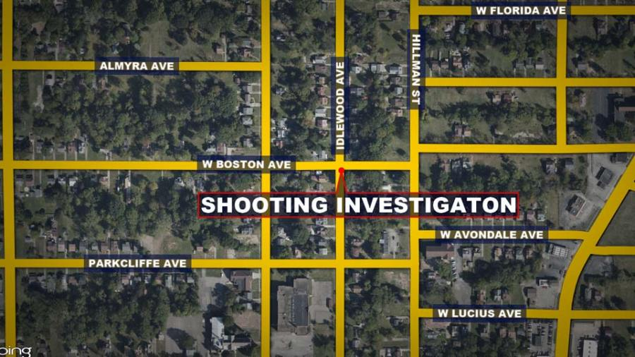Boston Ave/Idlewood Ave, Youngstown Fatal Shooting Investigation map