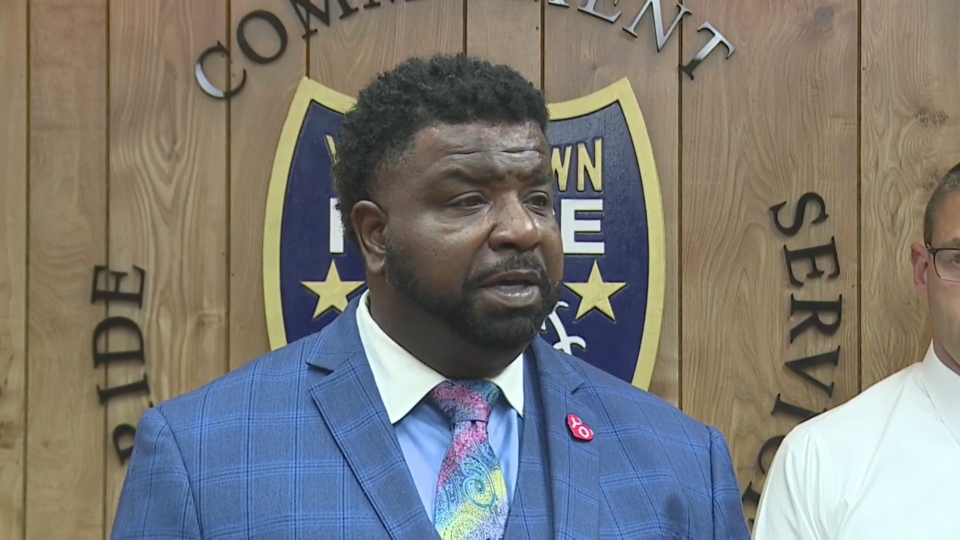 Youngstown Mayor Tito Brown