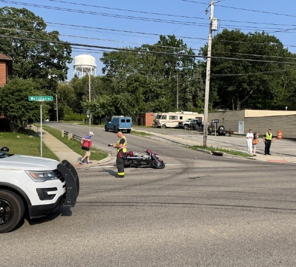 Youngstown Meridian motorcycle crash