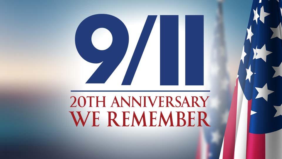 9/11 20th Anniversary Logo