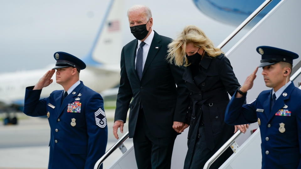 Biden paying respects to US troops killed in Afghanistan