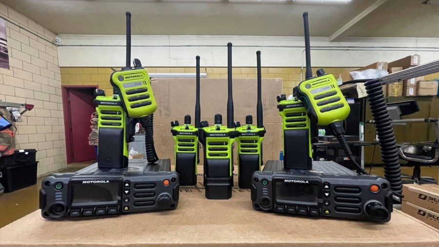 Campbell Fire Department New Radios