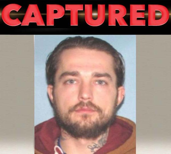 Shawn Squires, captured on a parole violation in Youngstown