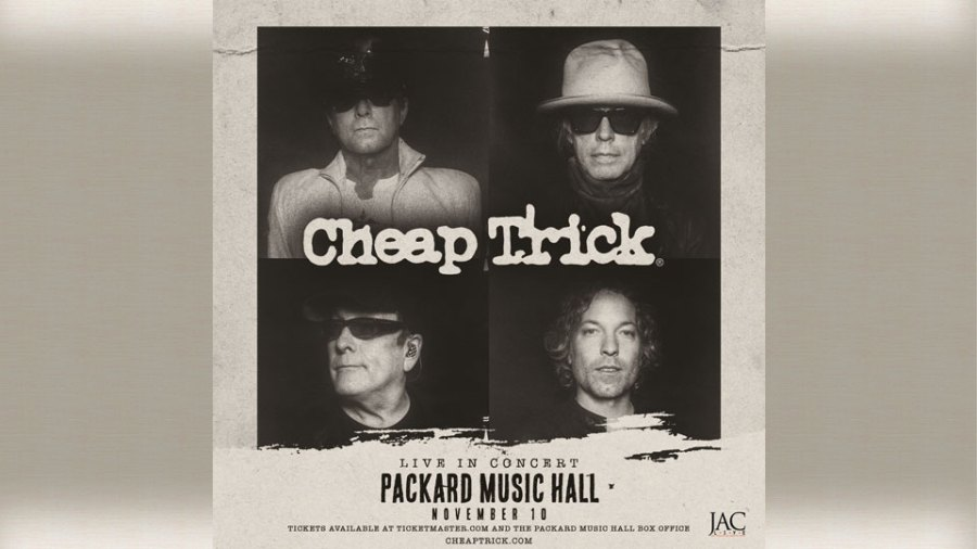 Cheap trick at the Packard Music Hall