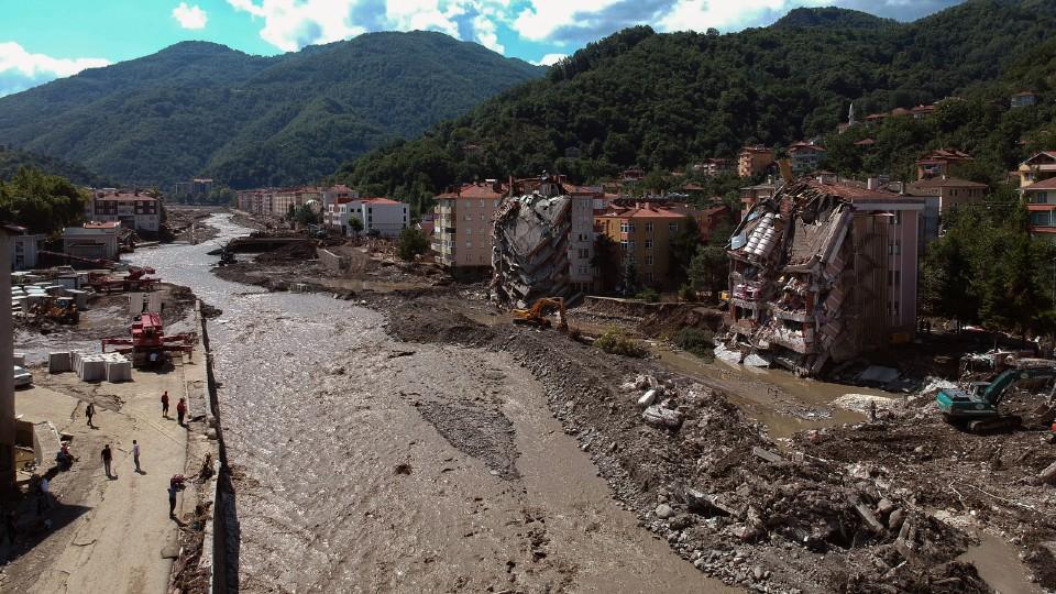 Flooding in Turkey