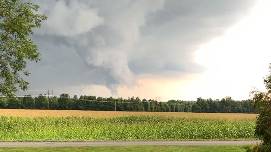 Funnel Cloud, Newton Falls, Ohio