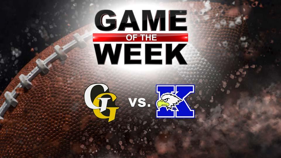Garrettsville Garfield G-Men vs. Warren JFK Eagles football graphic (GOTW)