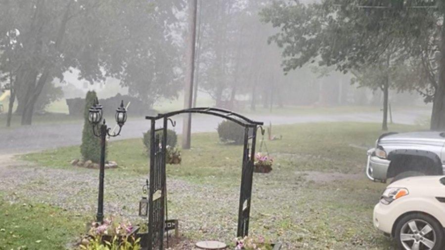 Heavy Rain, Leetonia, Ohio