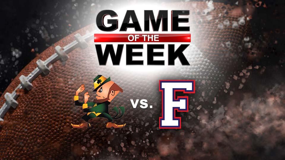 High School Football Game of the Week, Ursuline Fighting Irish, Austintown Fitch Falcons (GOTW)