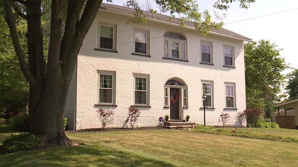 Built on a little hill on Vienna Avenue in Niles is the Heaton-Stein house. At 200 years old, it's one of Niles' oldest, but few can top it in historic value, and if you're interested, it's for sale.