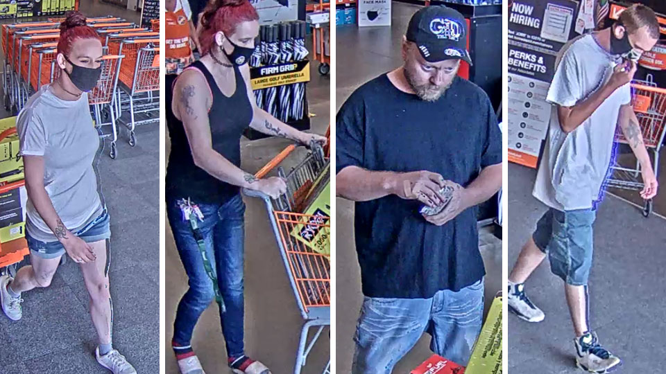 Howland Theft Suspects