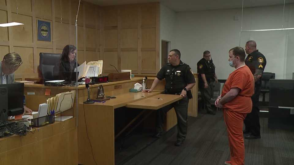 Eighteen of the 20 men arrested by the Mahoning Valley Human Trafficking Task Force appeared in court for the first time Tuesday.