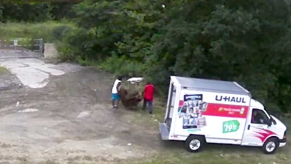 Youngstown's Litter Control Department has some video they want to share of someone dumping illegally in the city.