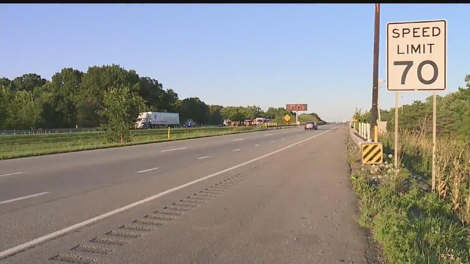 Interstate 80 West Middlesex crash
