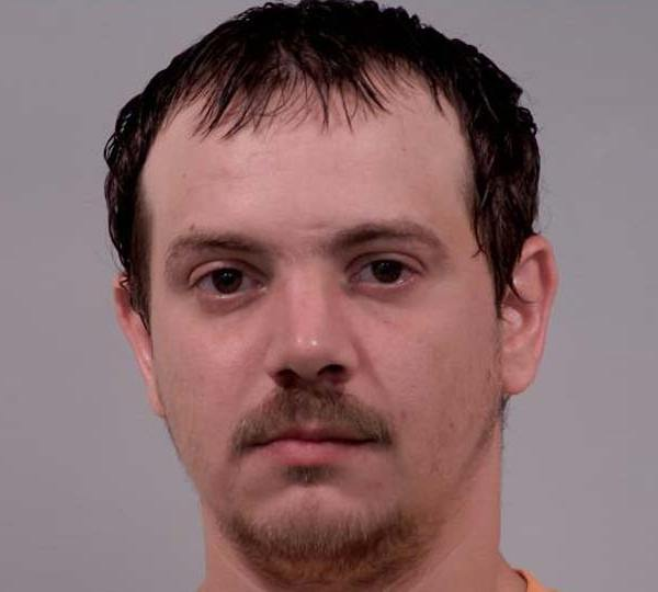 Jason Reed, Warren, charged with inducing panic. Photo from April 2020