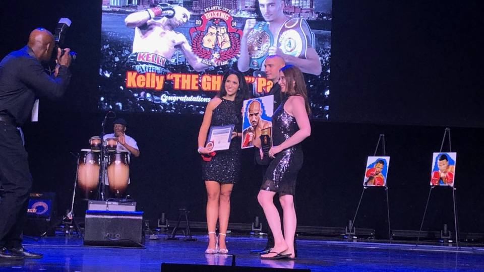 """Youngstown native Kelly """"The Ghost"""" Pavlik was inducted into the Atlantic City Boxing Hall of Fame on Sunday at the Hard Rock Casino."""