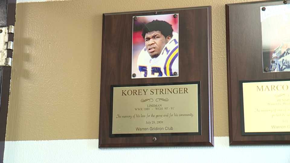 Sunday, August 1, was the 20th anniversary of Korey Stringer's death. He was a Warren native turned NFL lineman who died from exertional heat exhaustion.