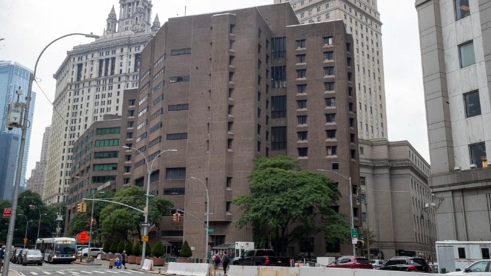 Metropolitan Correctional Center in Manhattan