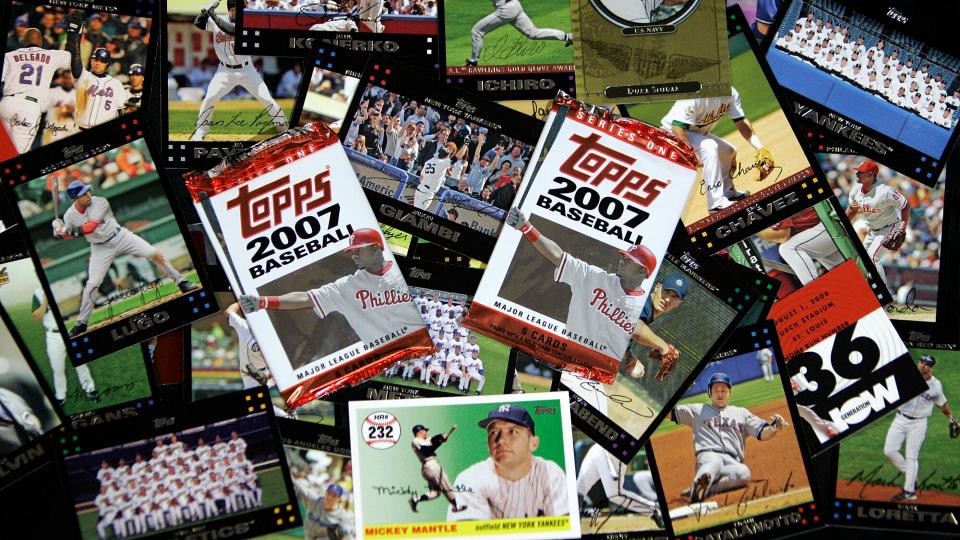 MLB Topps cards