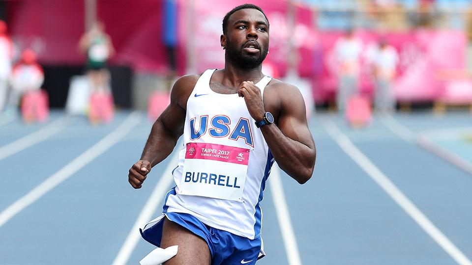 United States' Cameron Malik Burrell
