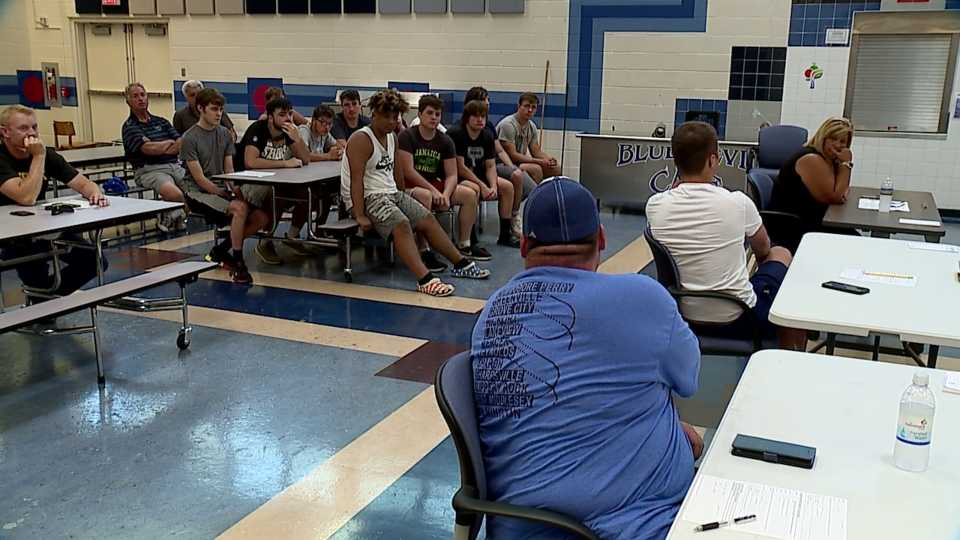 The Sharpsville School Board voted seven to one to merge its football program with West Middlesex.