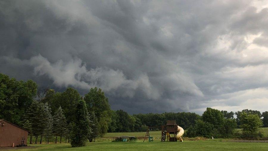 Storm Clouds, Vienna, Ohio