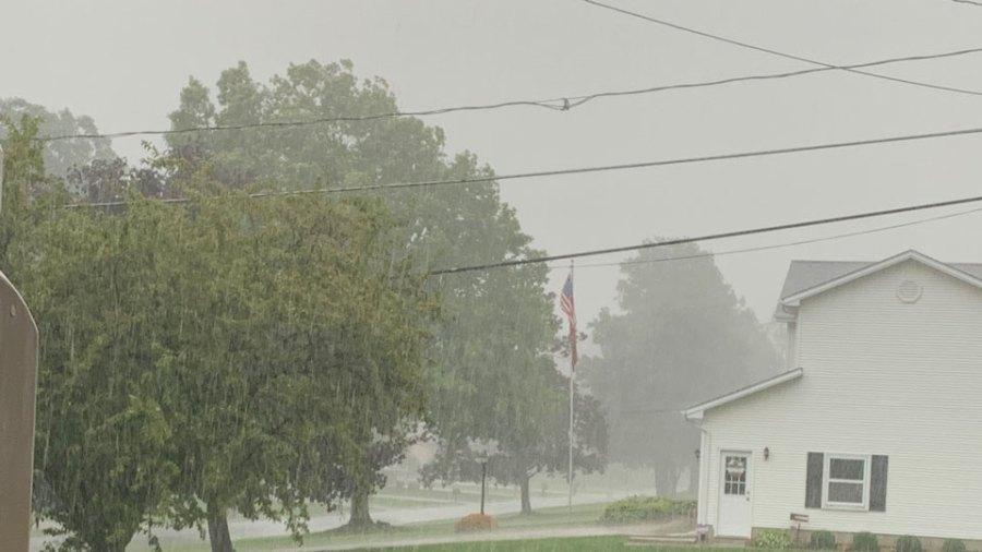 Stormy weather, Austintown