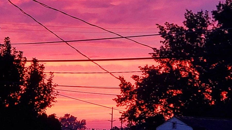 Sunset, Columbiana