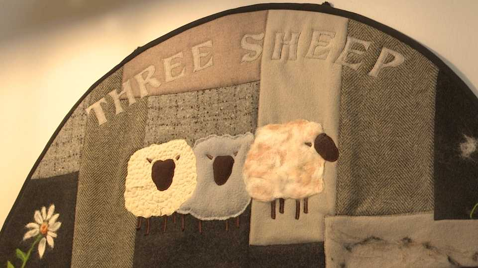 Boardman's Three Sheep Gallery and Workshop is not your average yarn store. It serves to empower people and support the community.