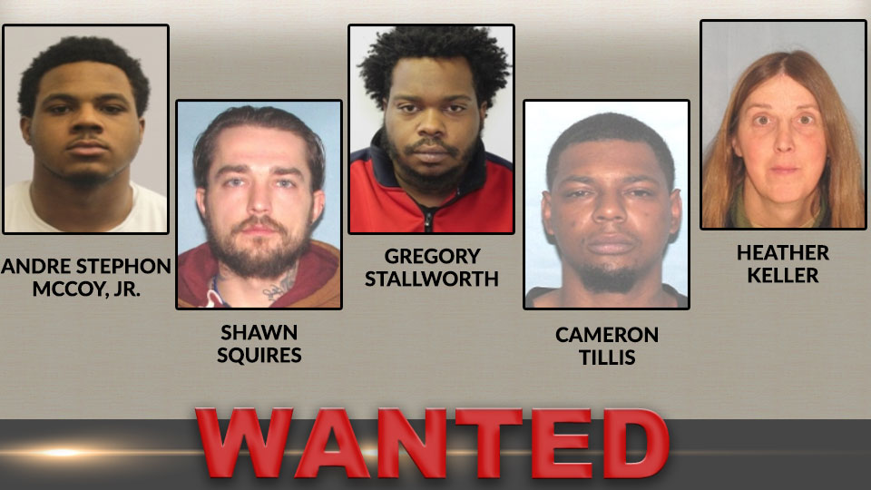 Youngstown Top 5 Wanted Fugitives