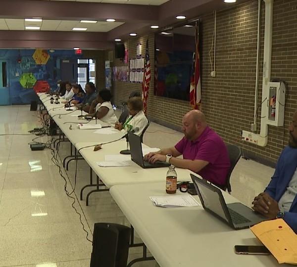 Youngstown school board meeting
