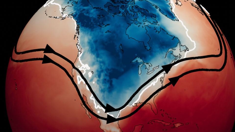 How Arctic warming can trigger cold waves in North America