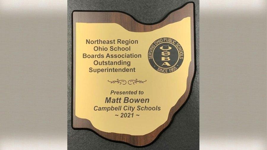 Northeast Region Ohio School Boards Association Recognizes Local Superintendent (2)