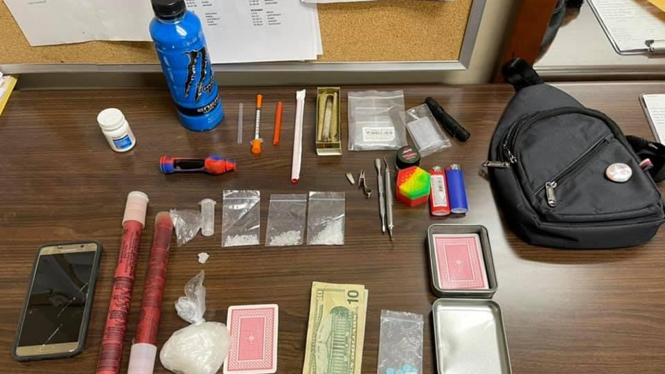 Police find nearly 240 grams of meth in traffic stop