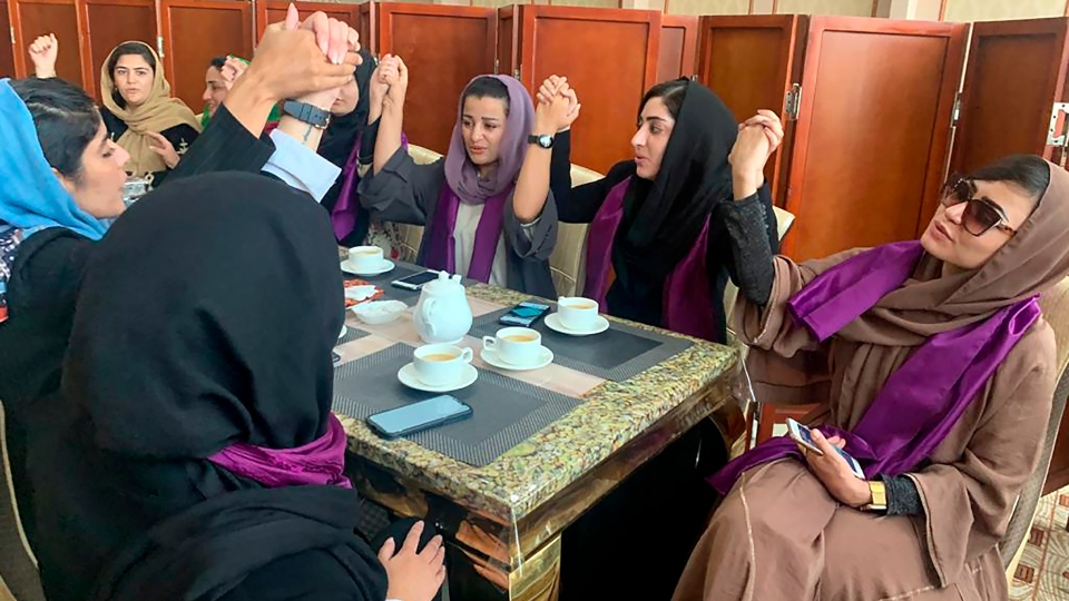 Taliban special forces bring abrupt, frightening end to women's protest