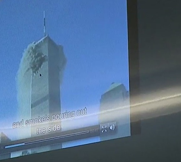 Teachers convey events, emotion of 9/11 to young students